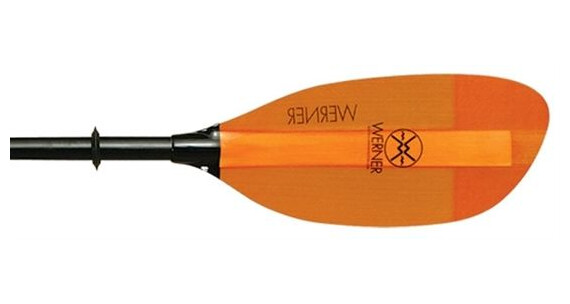 Werner Shuna (Straight Fiberglass) 2pc Orange